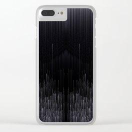 L I N E A R Clear iPhone Case