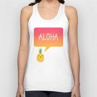 aloha Tank Tops featuring Aloha by Elisabeth Fredriksson
