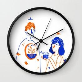 Heart of Tree Wall Clock