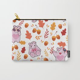 Sakura Fall Pattern Carry-All Pouch