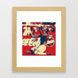 Brandi Chastain  Framed Art Print