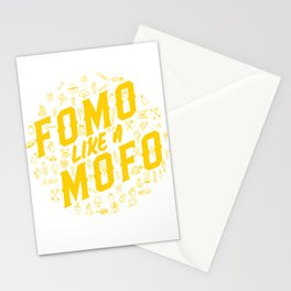 FOMO Like a MOFO Stationery Cards