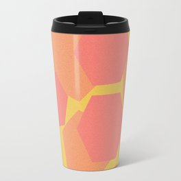 Hexa-Pattern Travel Mug