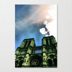 Notre Dame de Paris. Canvas Print