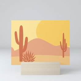 Neutral Desert Mini Art Print
