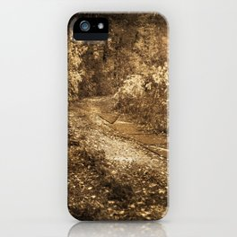 Road to memories iPhone Case