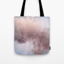 Princess Retro Rose Gold Blush Tote Bag