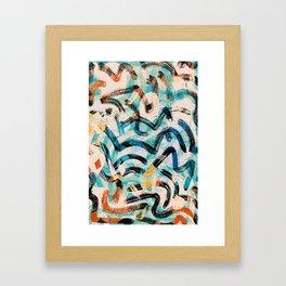 Pattern № 2 Framed Art Print