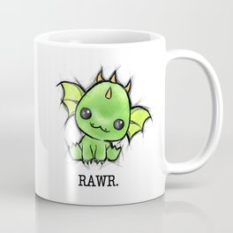 Baby Dragon Kawaii Coffee Mug