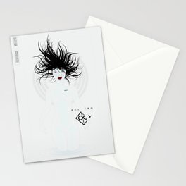 P_2501-white (manga) Stationery Cards