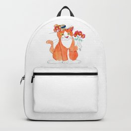 Gentleman Cat Backpack