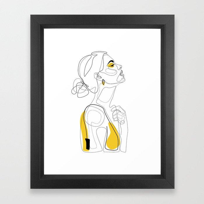 Color Beauty Framed Art Print