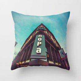 NOPA-color Throw Pillow