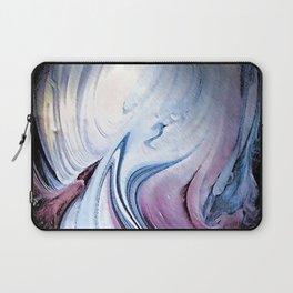 Tint Blot - Blue Stalagmites Laptop Sleeve