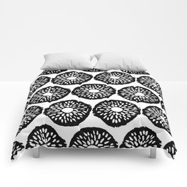 Abstract Hand Drawn Patterns No.8 Comforters