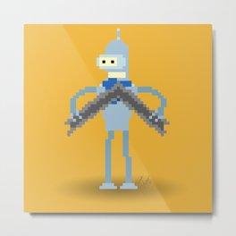 Pixel Bender Metal Print