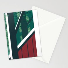 Behind the barn Stationery Cards
