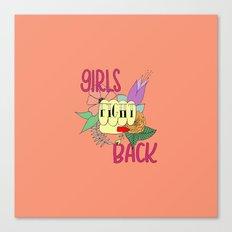 Girls fight back - Vampire palette Canvas Print