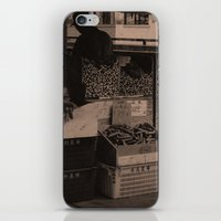 food iPhone & iPod Skins featuring FooD by Christophe Chiozzi
