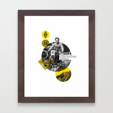 You Can Quote Me - Hunter S. Thompson Framed Art Print