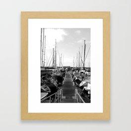 Walk the Plank Framed Art Print