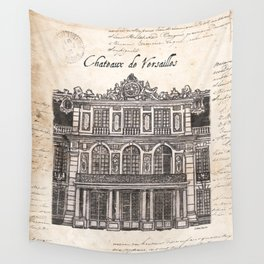 Chateaux de Versailles Wall Tapestry