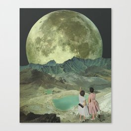 The last of the Supermoons Canvas Print