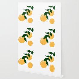 Clementine Branch Wallpaper