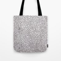 trippy Tote Bags featuring trippy by Eliza L