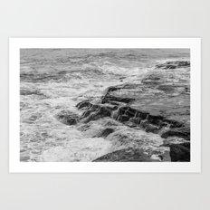 Keep the water flowing Art Print