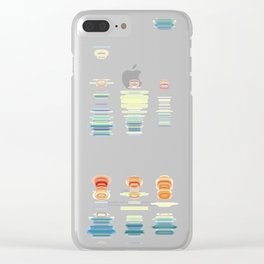 Fish Move Clear iPhone Case