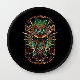 S'Owl Keeper Wall Clock