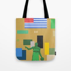 The God That Was Swallowed By The Sun Tote Bag