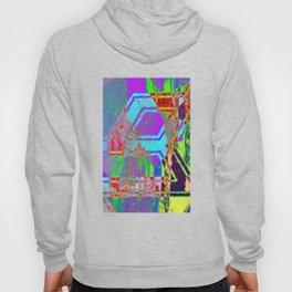 Neon Abstract Vaporwave Hoody