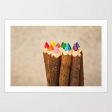 Color Me Free I Art Print