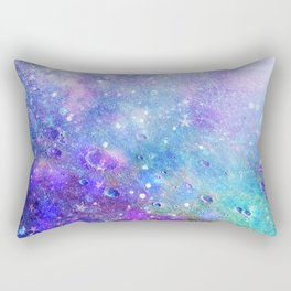 Colorful Deep Space Background Rectangular Pillow
