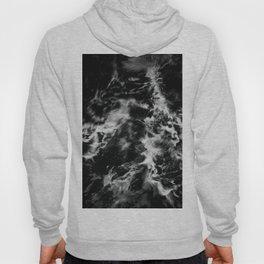 Waves III - Black and White Hoody