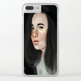 Delilah Clear iPhone Case