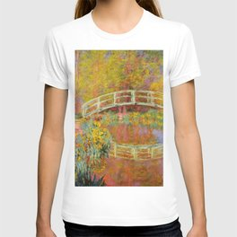 "Claude Monet ""The Japanese Bridge at Giverny"" T-shirt"
