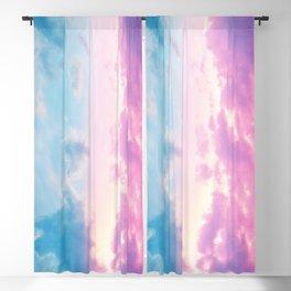 Unicorn Pastel Clouds #3 #decor #art #society6 Blackout Curtain