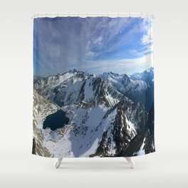 Lake of Alps Shower Curtain