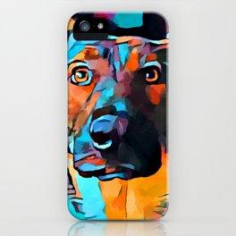 German Shepherd 7 iPhone Case