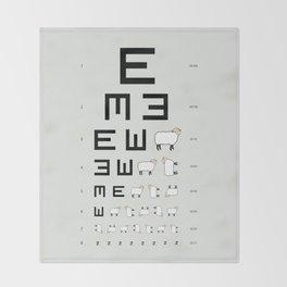 The EWE Chart Throw Blanket
