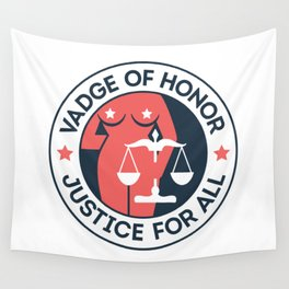 Vadge of Honor Wall Tapestry