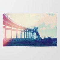 bridge Area & Throw Rugs featuring Bridge by Rolin