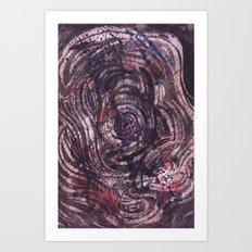 Underwater Supernova Art Print