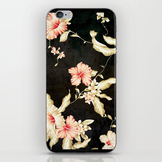 VINTAGE FLOWERS III - for iphone iPhone & iPod Skin