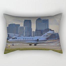 London City Airport Rectangular Pillow