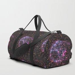 Purple Supernova Duffle Bag