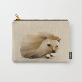 Geometric Hedgehog - Modern Animal Art Carry-All Pouch